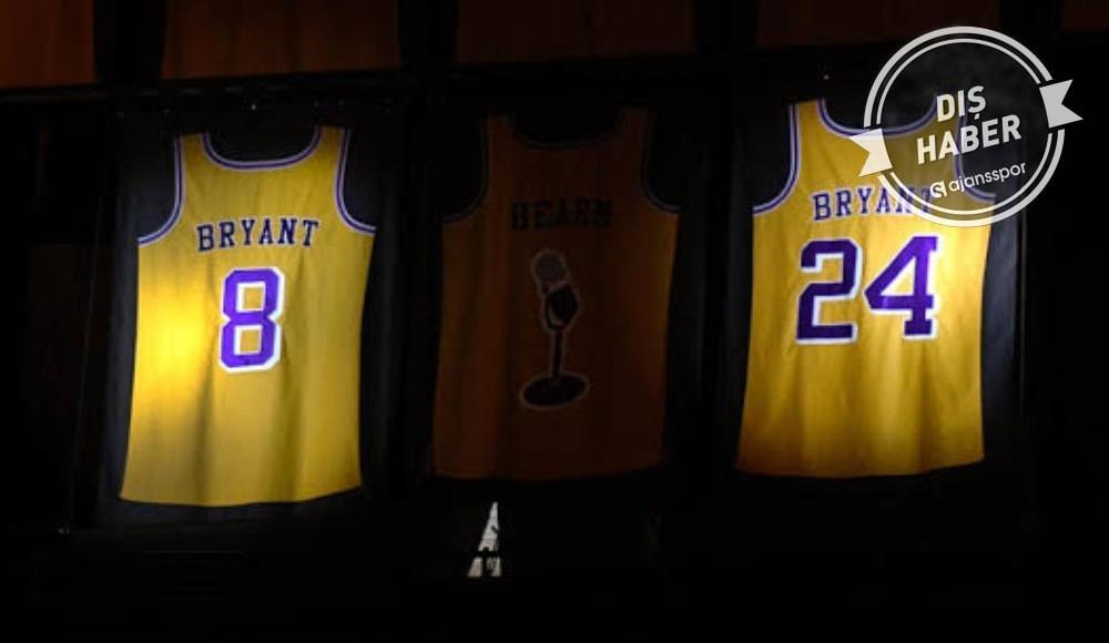 Kobe Bryant için formalarını değiştirdiler! NBA...