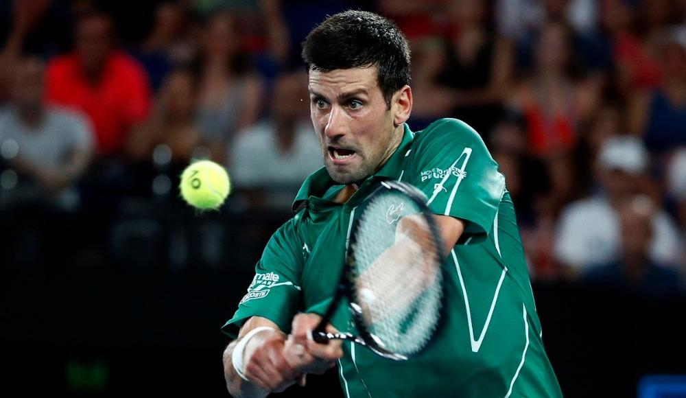 Djokovic finale yükseldi!