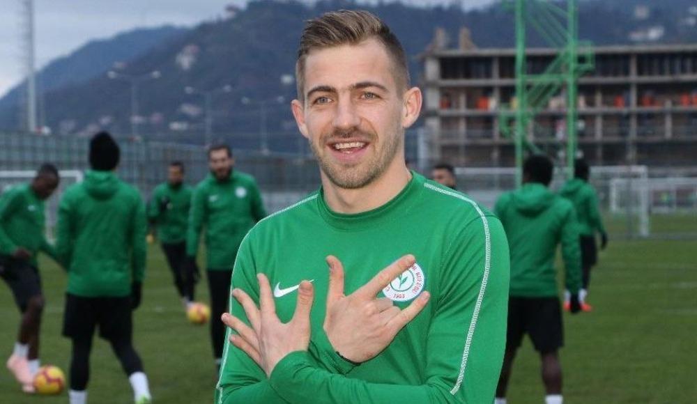 Dario Melnjak yine Trabzonspor'a attı