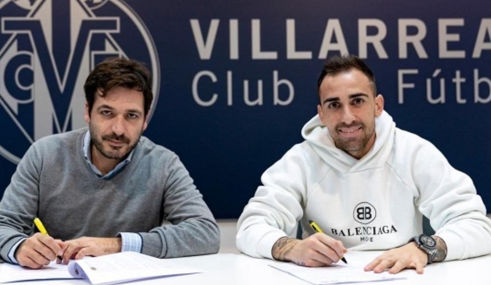 Villarreal, Francisco Alcacer'i renklerine bağladı