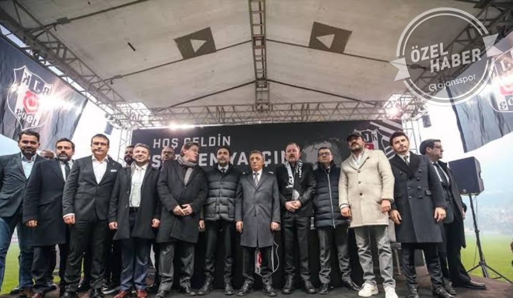 Beşiktaş'ta imzalar artık böyle atılıyor...