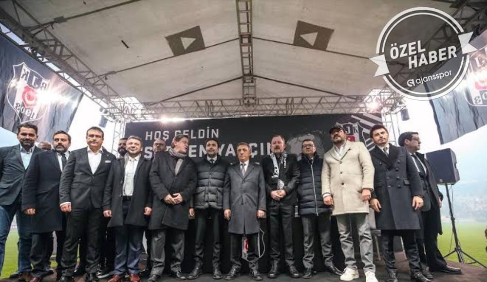Beşiktaş'ta imzalar artık cümbür cemaat!