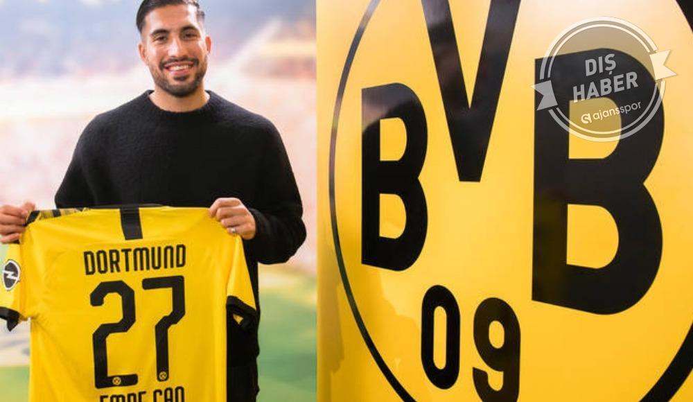 Emre Can, Borussia Dortmund'da!