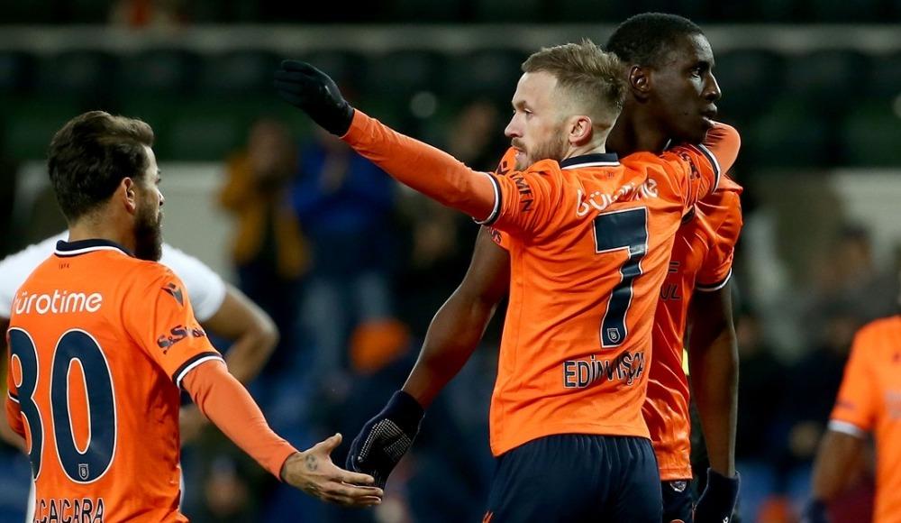 Edin Visca attı, Başakşehir rahat kazandı! 3-1