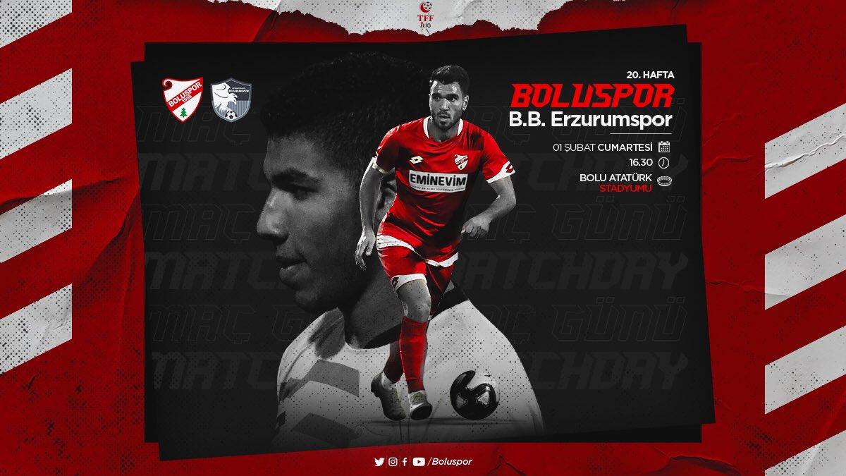 Boluspor - BB Erzurumspor maçını hangi kanal yayınlayacak belli oldu