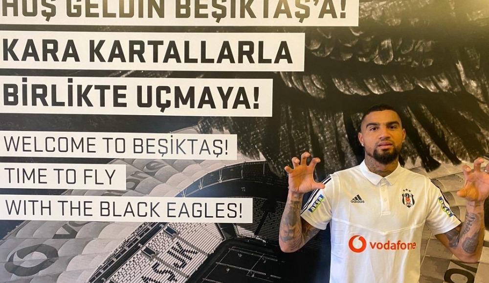 Beşiktaş'tan Boateng'e hoş geldin mesajı