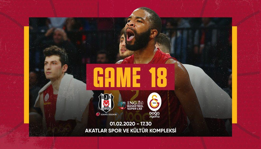 Beşiktaş Sompo Sigorta - Galatasaray Doğa Sigorta maçını hangi kanal yayınlayacak belli oldu