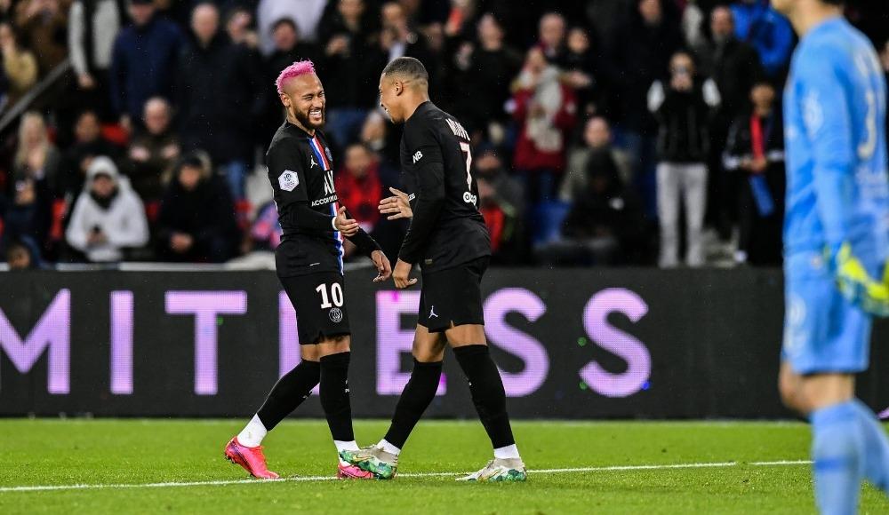 Paris Saint-Germain, Montpellier'i 5 golle geçti!