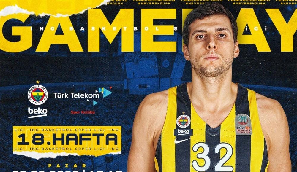 Fenerbahçe Beko - Türk Telekom (Canlı Skor)