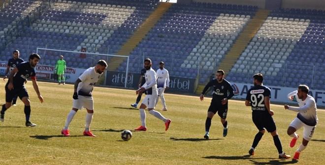 Afjet Afyonspor sahasında Sarıyer'e 1-0 mağlup oldu