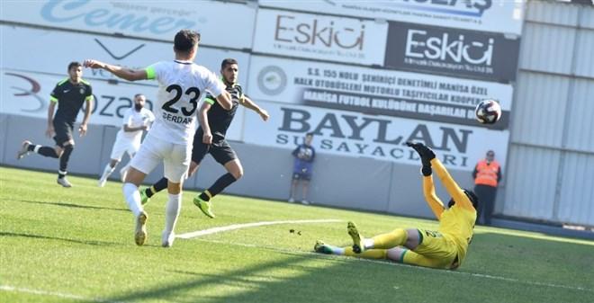 Manisa FK şov yaptı! 7-0