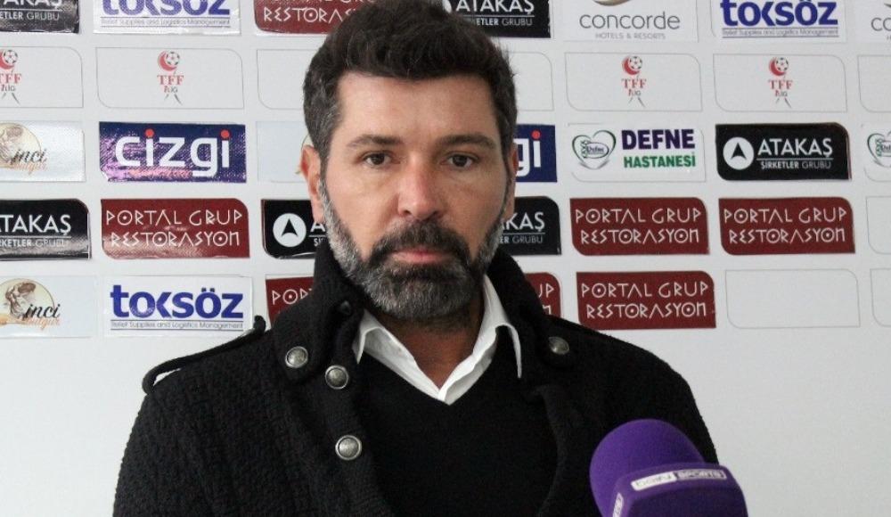 """Giresunspor Teknik Direktörü Kutlu: """"Akhisarspor'u yenerek yeniden çıkışa geçeceğiz"""""""