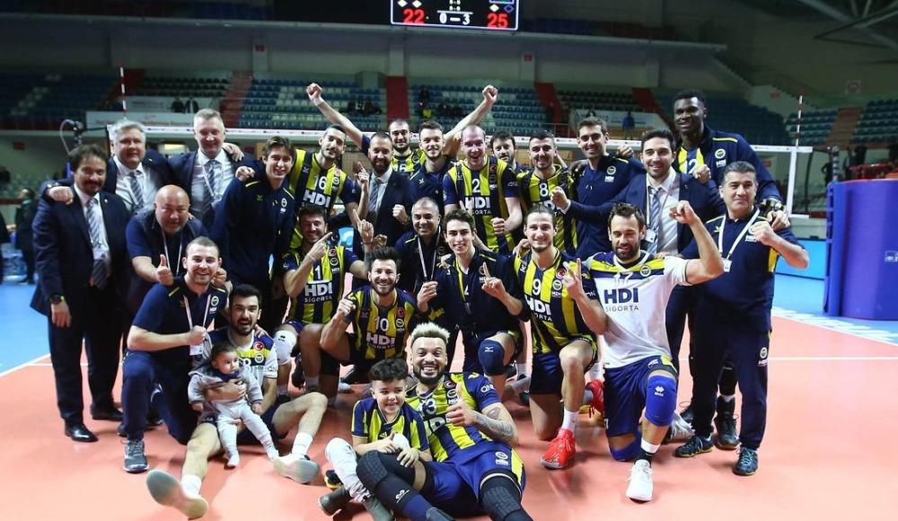 Dev derbide kazanan Fenerbahçe HDI Sigorta!