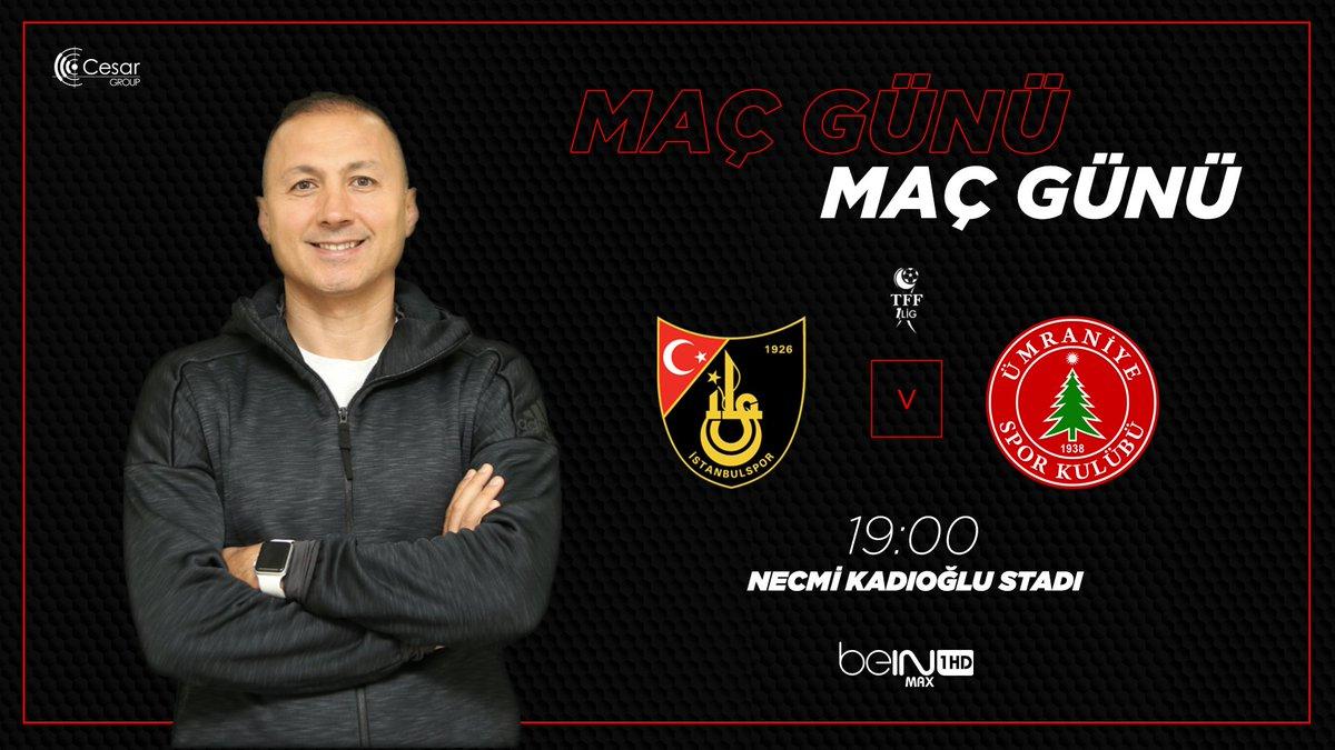 İstanbulspor - Ümraniyespor maçını hangi kanal yayınlayacak belli oldu