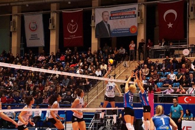 Aydın Büyükşehir Belediyespor, Nilüfer Belediyespor'u 3-1 yendi