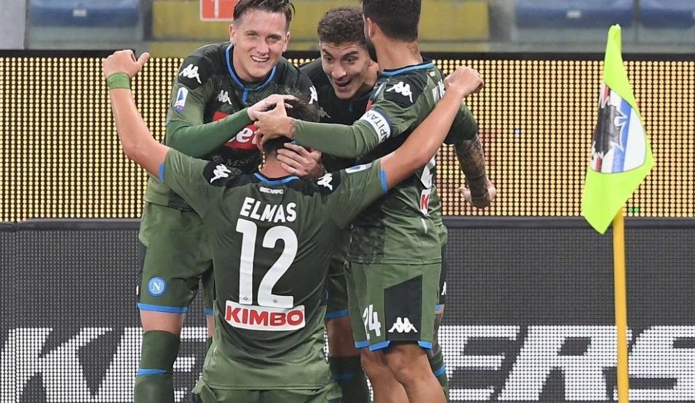 Eljif Elmas attı, Napoli çıkışını sürdürdü! 2-4