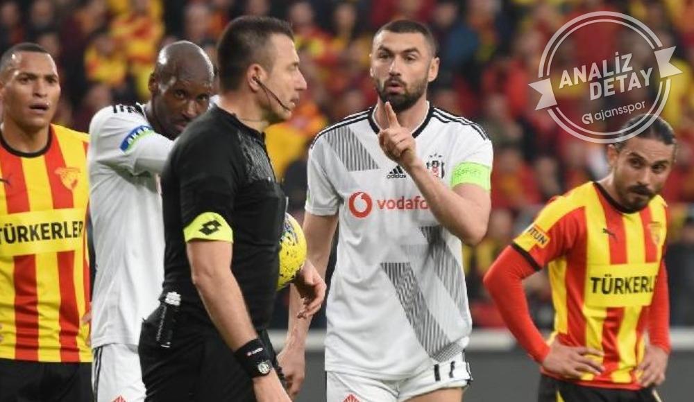 Beşiktaş, Göztepe maçında hükmen  galibiyet istedi