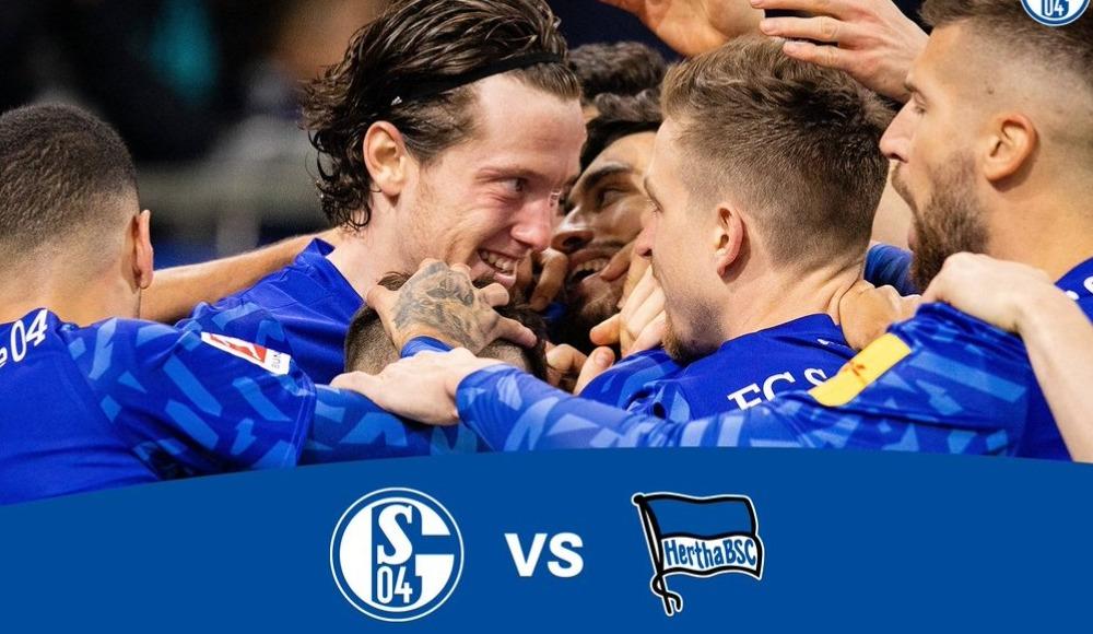 Schalke 04 - Hertha Berlin (Canlı Skor)