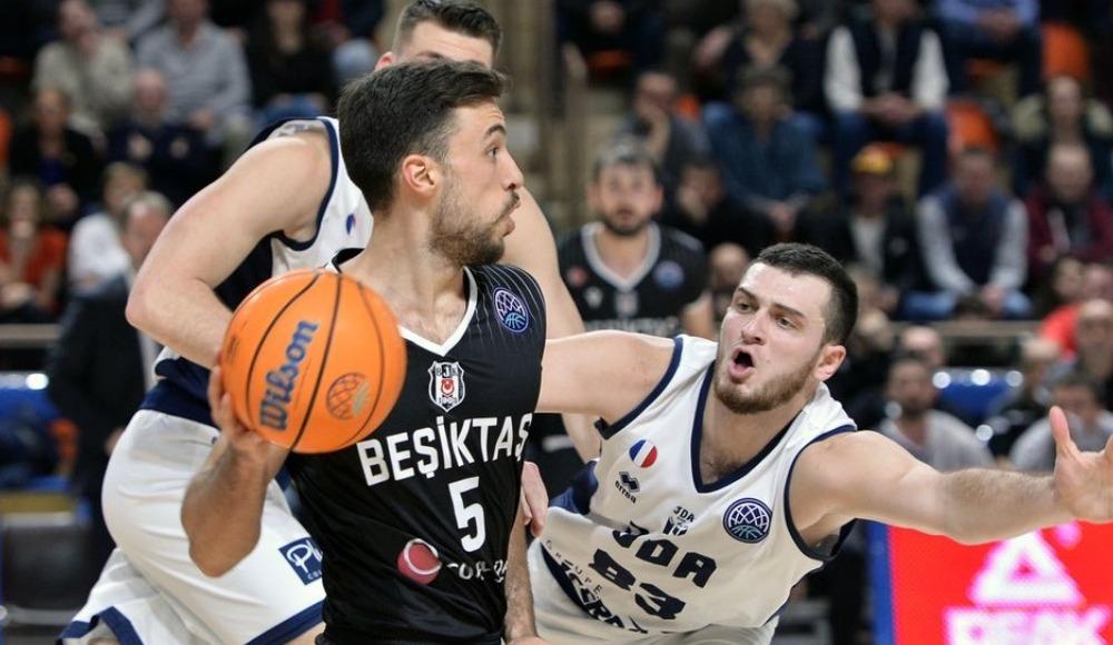 Beşiktaş Sompo Sigorta, Fransa'da farklı kaybetti