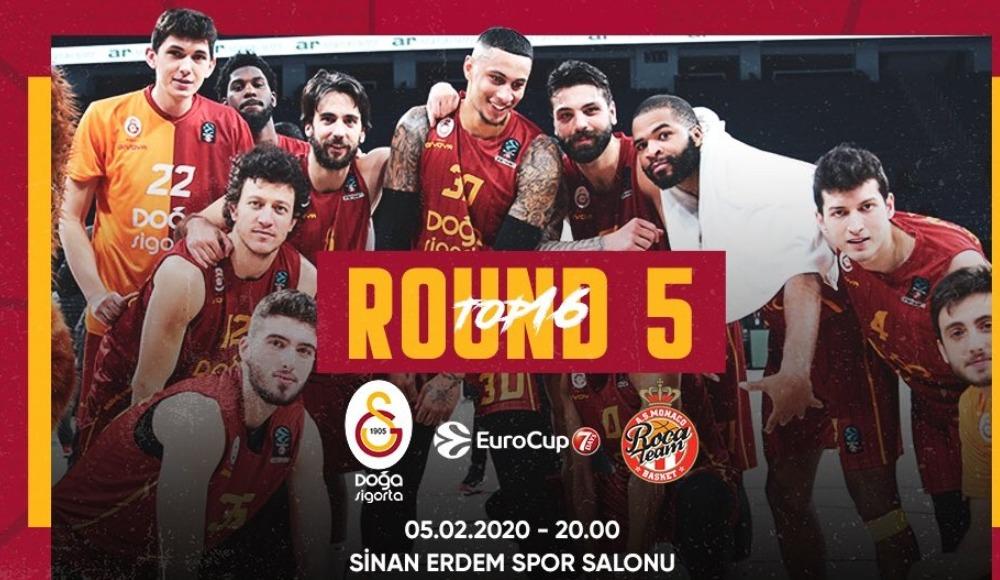 Galatasaray Doğa Sigorta - AS Monaco (Canlı Skor)