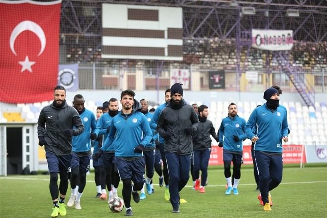Keçiörengücü'nde, BB Erzurumspor hazırlıkları sürüyor