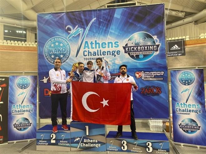 Diyarbakırlı sporcudan Türk bayrağını yırtan Yunan vekile cevap
