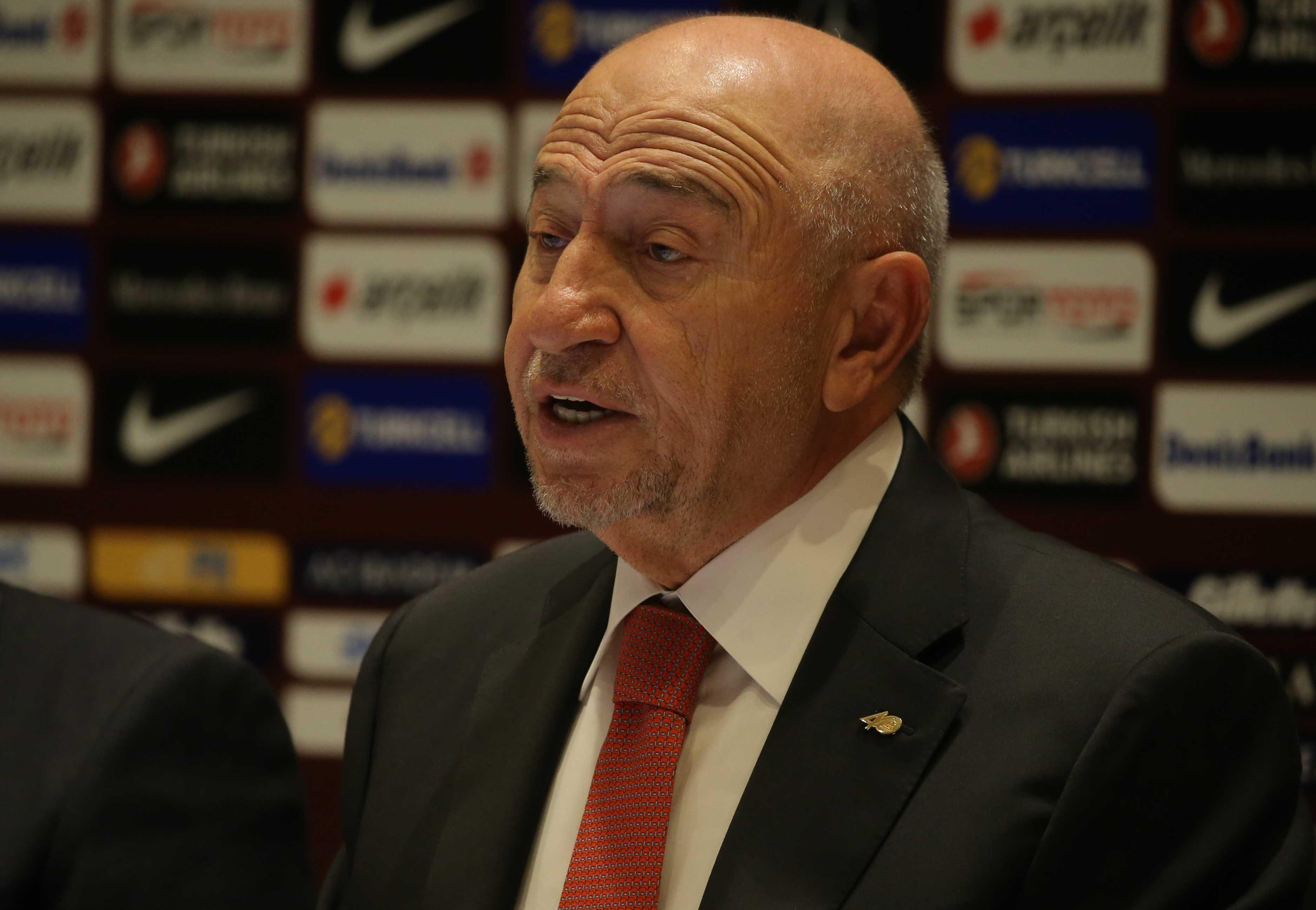 TFF Başkanı Özdemir: Hedefimiz liglerimizin en kısa zamanda başlaması