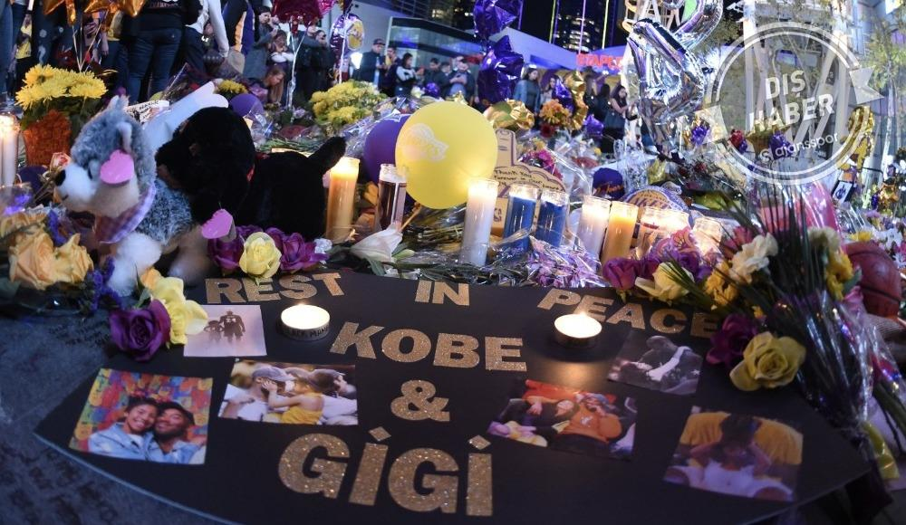 Los Angeles Lakers'tan halka açık anma töreni! Kobe Bryant...