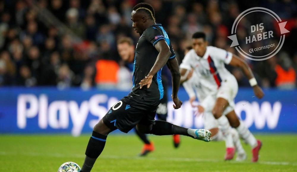 """Brugge'den Diagne açıklaması: """"Tehditlerinizden ürkmedik!"""""""