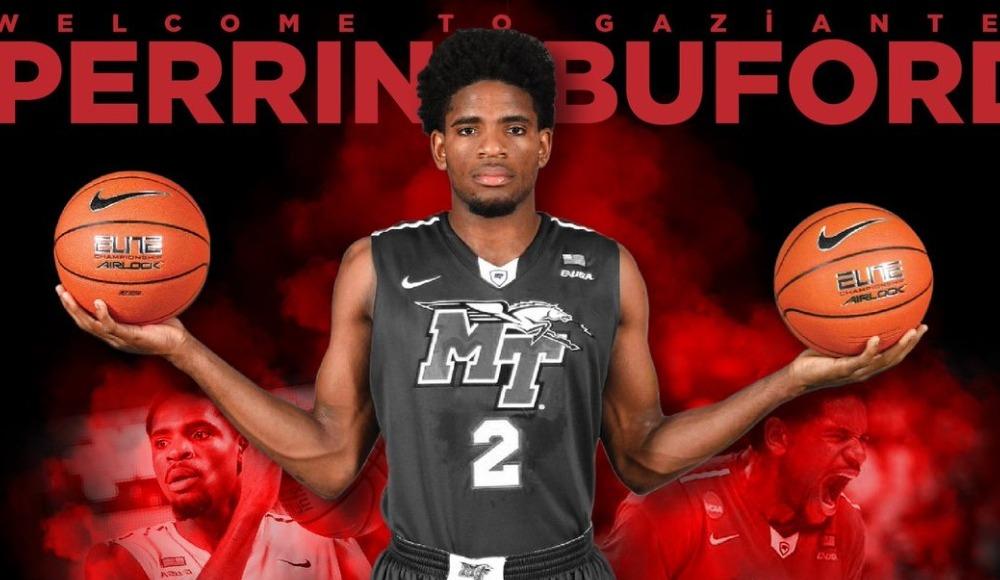 Gaziantep Basketbol, Perrin Buford'ı transfer etti