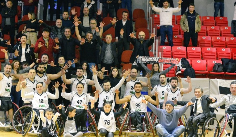 Tekerlekli Sandalye Basketbol Süper Ligi'nde derbi Beşiktaş'ın!
