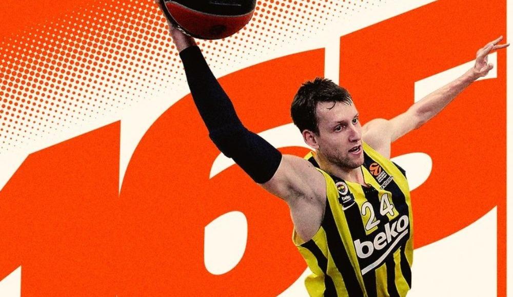 Jan Vesely, Fenerbahçe Beko kulüp rekorunu kırdı