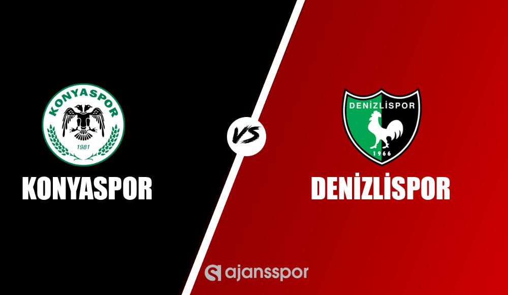 Konyaspor - Denizlispor (Canlı Skor)