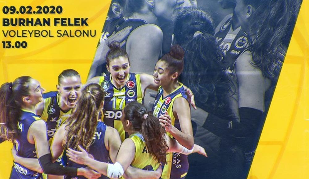 Voleybolda derbi zamanı! Fenerbahçe - Galatasaray...