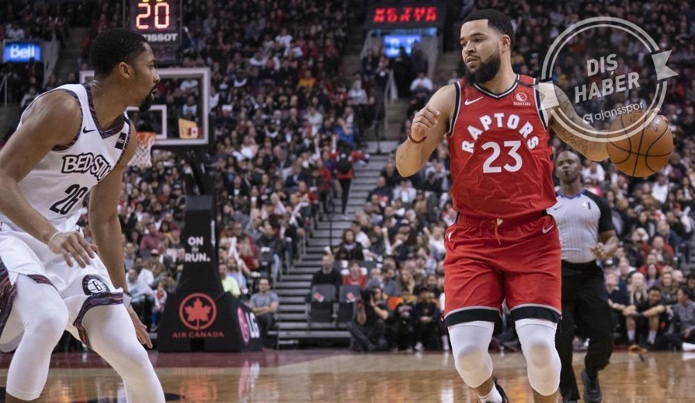 Nets'i yenen Raptors, üst üste 14. galibiyetini aldı