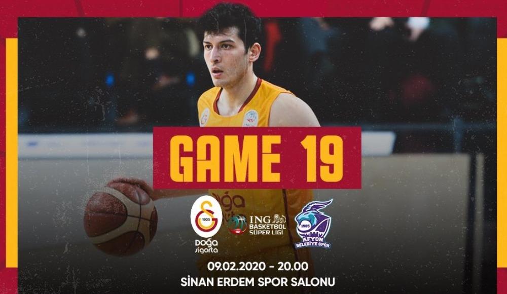 Galatasaray Doğa Sigorta - Afyon Belediyespor (Canlı Skor)