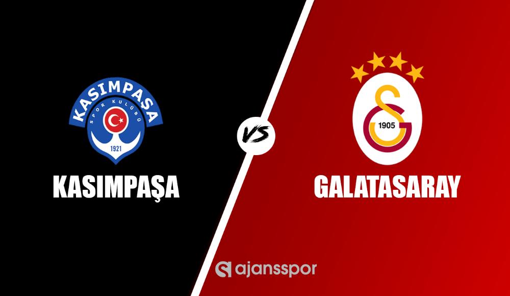 Kasımpaşa - Galatasaray (Canlı Skor)