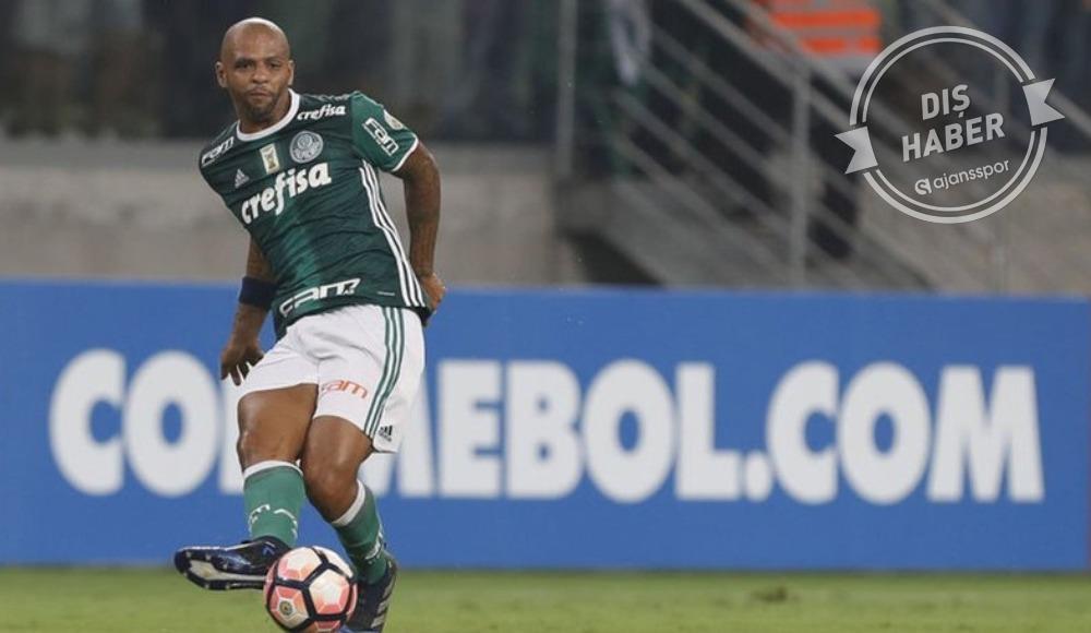Felipe Melo Palmeiras'ta mutlu! 'Her şey yolunda'