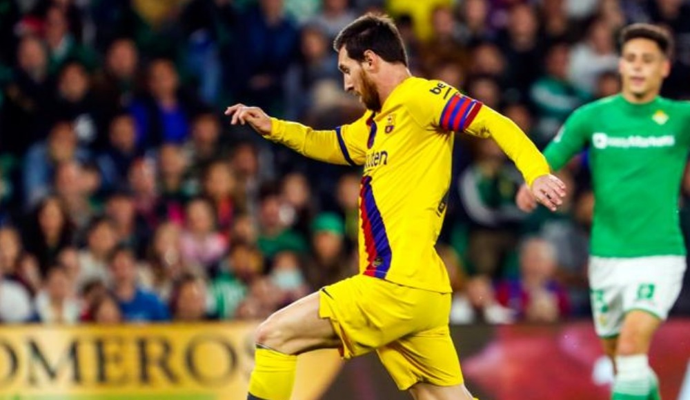Messi böyle istedi