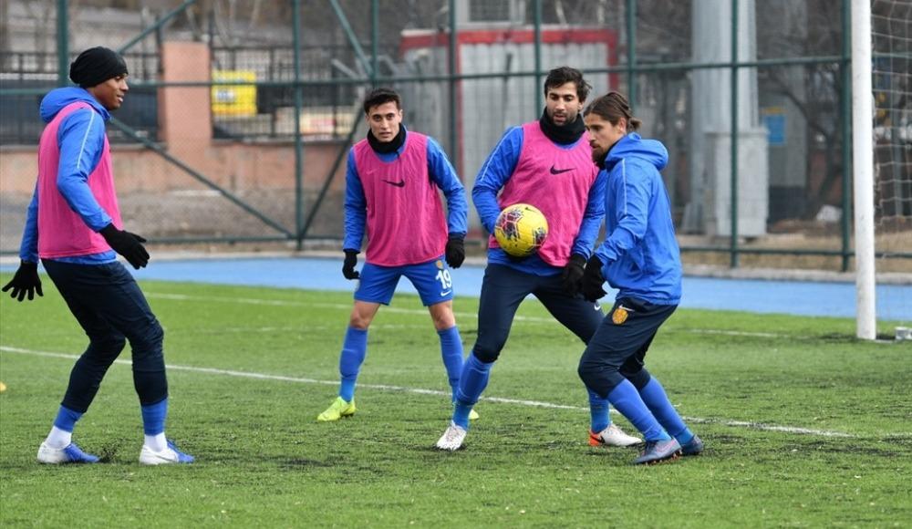 MKE Ankaragücü, Fenerbahçe maçının hazırlıklarına başladı