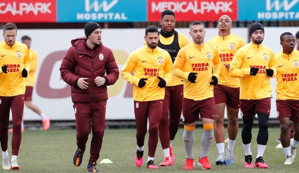 Galatasaray, rövanş hazırlıklarını sürdürdü. Falcao...