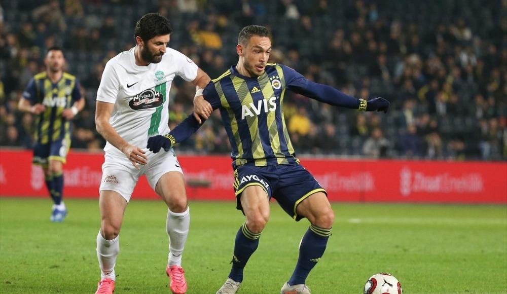 Kupa golcüsü sahnede, Fenerbahçe yarı finalde!