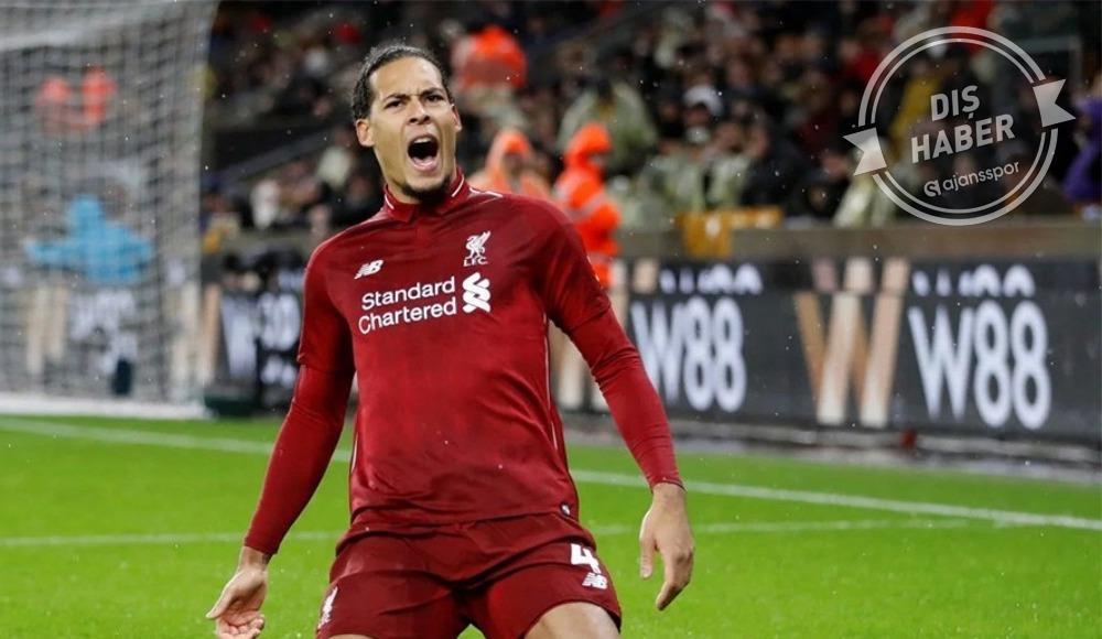 Liverpool van Dijk'e öyle bir sözleşme önerecek ki...