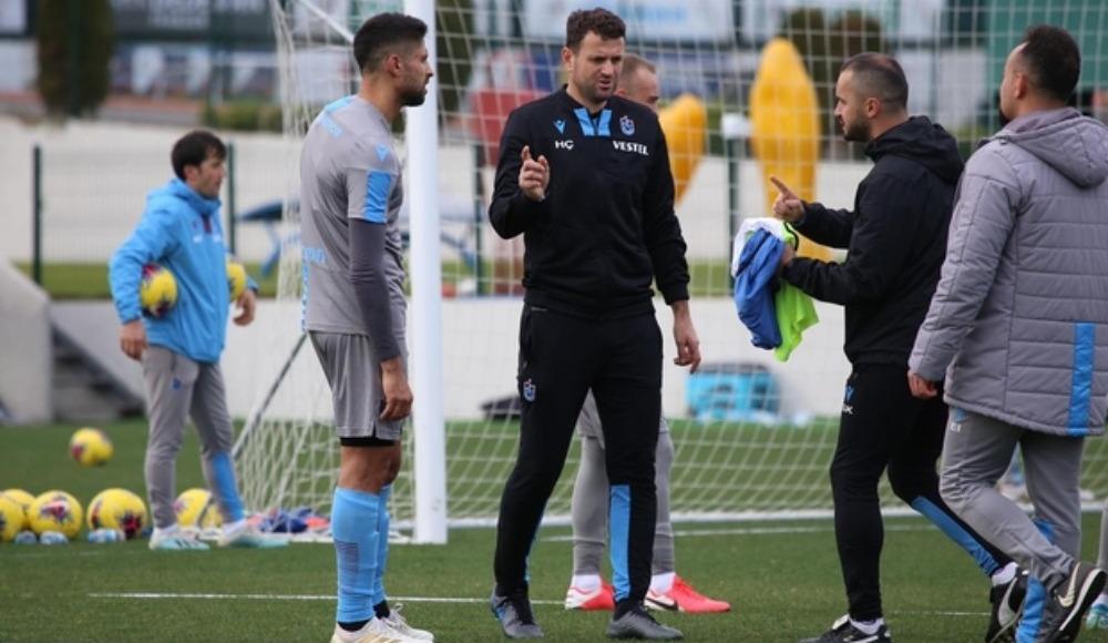 Trabzonspor'dan antrenman açıklaması