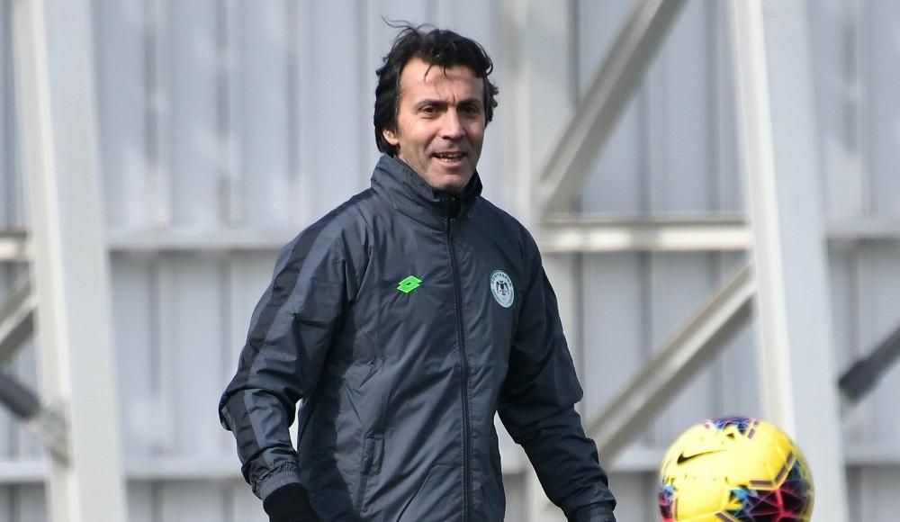 Konyaspor, Bülent Korkmaz'la ilk antrenmanına çıktı