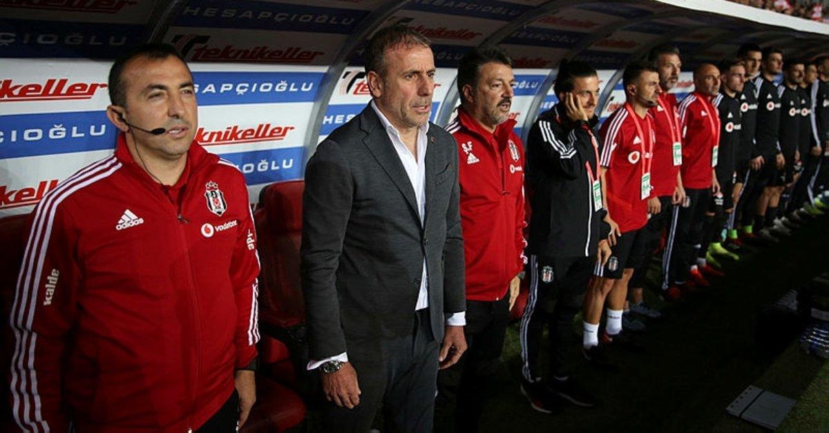 İşte Abdullah Avcı'nın Beşiktaş'ta birlikte çalıştığı ekibi: