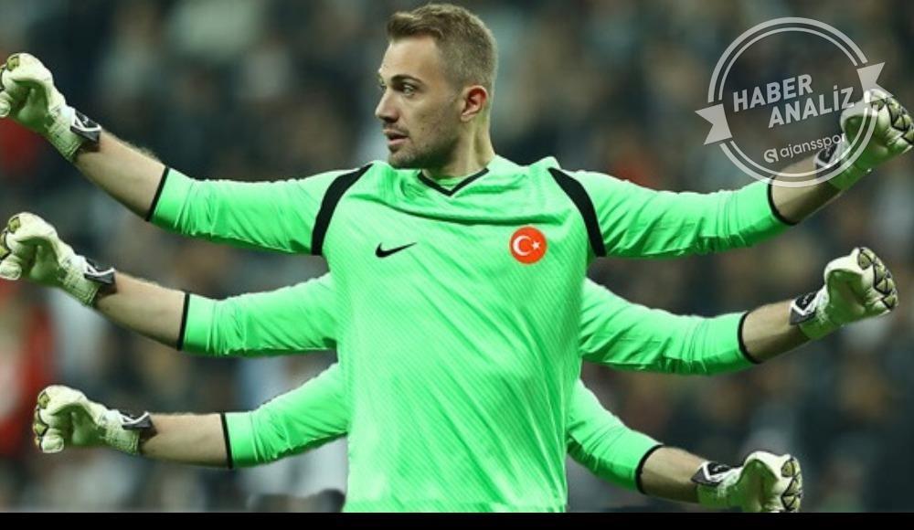 Mert Günok, Beşiktaş'a geçit vermedi!