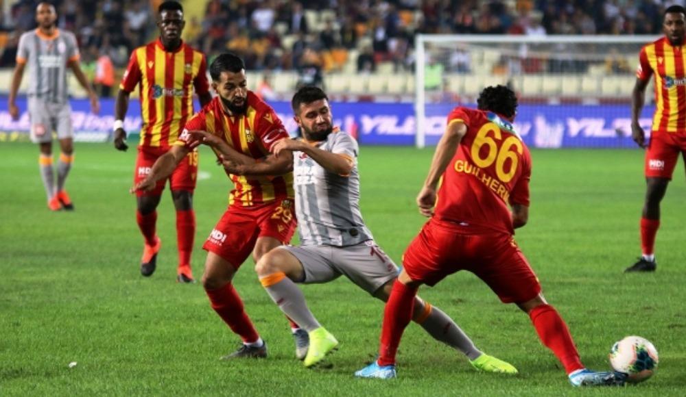 Galatasaray'ın konuğu Yeni Malatya
