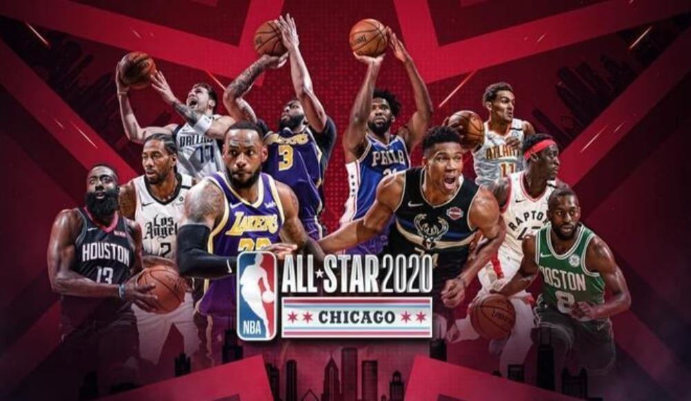 NBA All - Star 2020'de heyecan sürüyor!