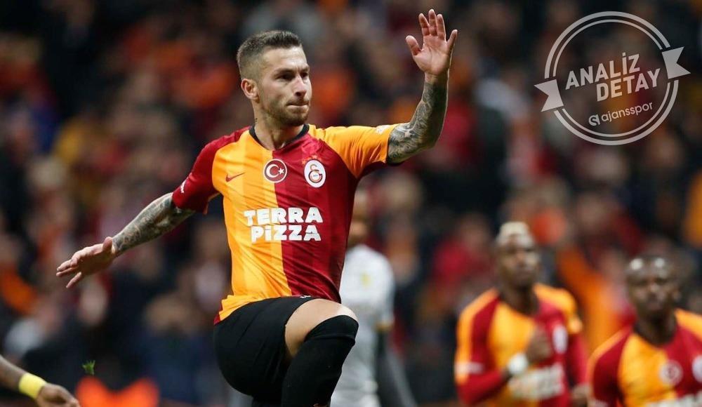 Galatasaray 9'da 8 yaptı